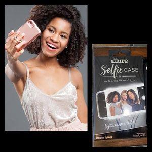 Case-Mate Allure LED Selfie Case iPhone 6 7 8 NEW